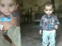 Karabağ'da ailesinin terk ettiği Ermeni çocuğa Azerbaycan askerleri sahip çıktı (Video Haber)