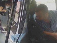 Tacizci dolmuş şoföründen Özbek kadın yolcuya ahlaksız teklif