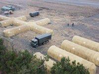 Rus ordusu Karabağ'da sahra hastanesi kurdu