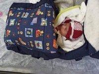 Osmaniye'de 1 aylık bebek apartman girişinde bulundu