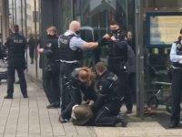Polis şiddeti Almanya'da hortladı: Başörtülü kadına insanlık dışı muamele