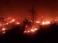 Lübnan'da Suriyeli mültecilere ait kamp ateşe verildi: En az 100 çadır yandı