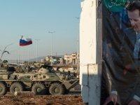 İdlib kırsalında Rus askeri aracı füze ile vuruldu, 3 Rus askeri yaralandı