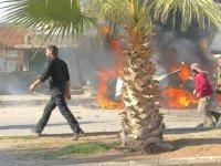 Resulayn ve El Bab kentlerinde sebze haline bombalı terör saldırısı: 5 ölü