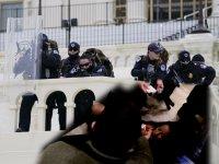 Amerikan Kongre binası 3 buçuk saat işgal edildi, 4 kişi öldü