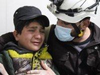 Esed güçleri Eriha'yı vurdu: Anne ve babası ölen 10 yaşındaki çocuk ağlama krizine girdi