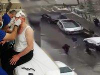 Selçuk Özdağ saldırısının görüntüleri yayınlandı: Plakasız araçla kaçtılar