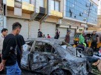 Bağdat'a pazaryerine düzenlenen bombalı saldırıda 17 kişi öldü