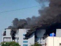 Dünyanın en büyük aşı üretim tesisinde şüpheli yangın