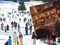Uludağ'da yasak yok, çılgın partiler ve kayak eğlenceleri düzenleniyor