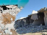 PKK tarafından evleri yıkılan onlarca aile sokakta kaldı
