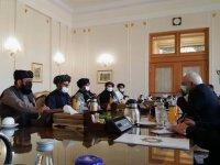 İran rejimi terör örgütü dediği Taliban'ı Tahran'da ağırladı