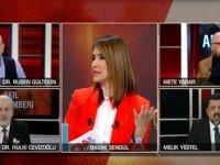 CNN Türk tartışma programında yaşanan kavgada hakaretler havada uçuştu