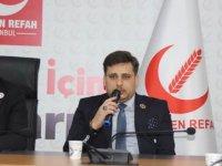Yeniden Refah Partisi, Hilafet çağrısı yapan partilisini disipline sevk etti