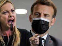 Macron'a sert sözler: Libya'yı sen bombaladın!
