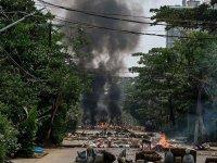 Myanmar'da Kaçin milisleri darbeci ordu güçleriyle çatıştı: 10 ölü