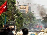 Myanmar ordusu, muhalif bölgelere yönelik hava saldırıları düzenledi