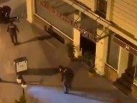 Yenikapı'da bekçi şiddeti!