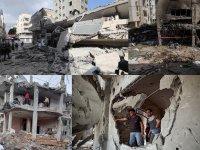İsrail yeniden Gazze Şeridi'ni vurmaya başladı!
