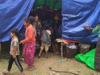 Myanmar'da 100 bin kişi evini terk etti