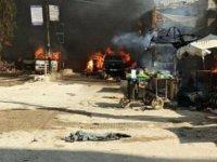 Afrin'de bombalı terör saldırı: 1 ölü