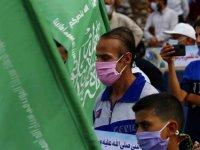 Almanya Hamas'ın bayraklarını yasaklayacak