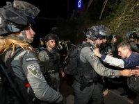 İsrail polisi, Şeyh Cerrah Mahallesi'ndeki Filistinlilere yine saldırdı