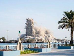 4 gökdelen 10 saniyede yıkıldı | Video